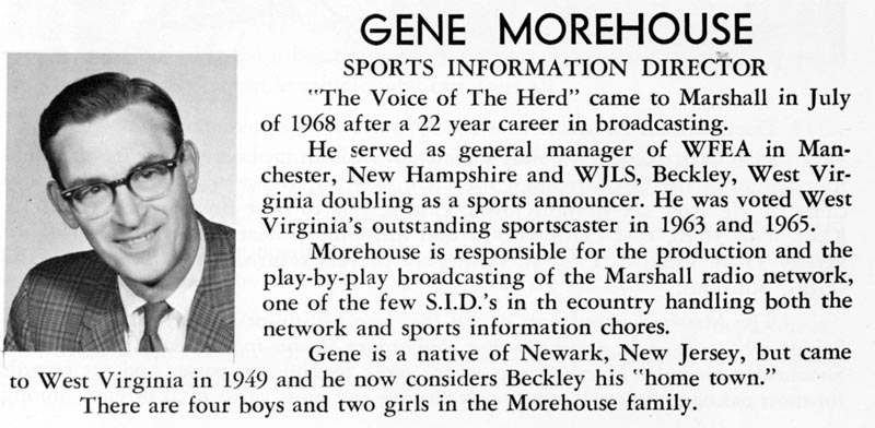 Gene Morehouse Special Collections