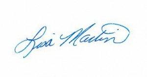 Lisa Martin Signature