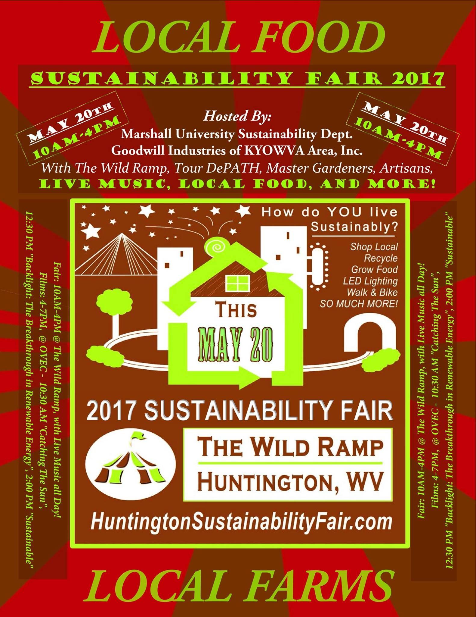 The 3rd Annual Huntington Sustainability Fair