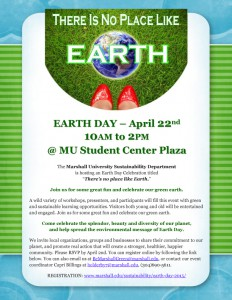Earth Day 2015 - event flyer-1 copy