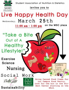 Live Happy Health Day copy