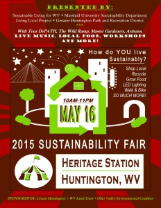 Huntington's first Sustainability Fair on May 16th