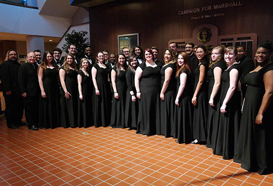 Marshall's Chamber Choir performance tour to Spain to begin this week