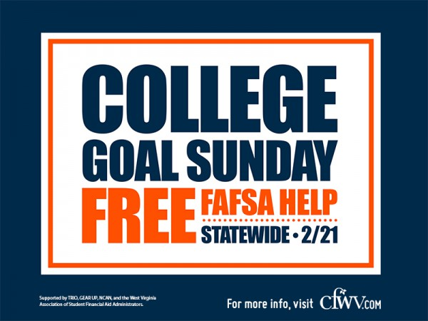 Marshall to host College Goal Sunday event Feb. 21