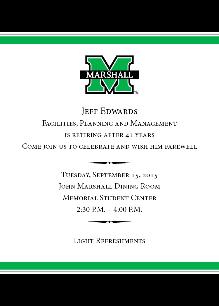 retirement reception for jeff edwards is sept 15