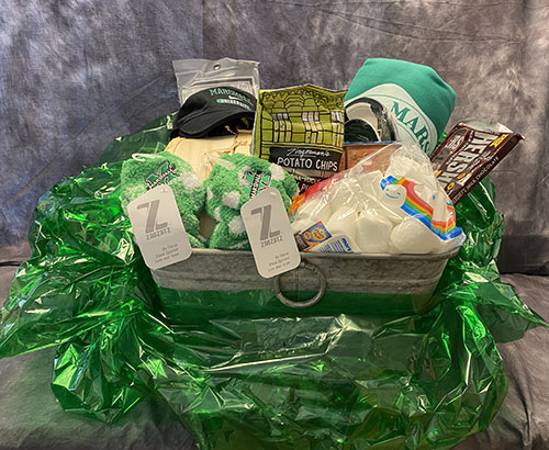 Gift basket for online auction