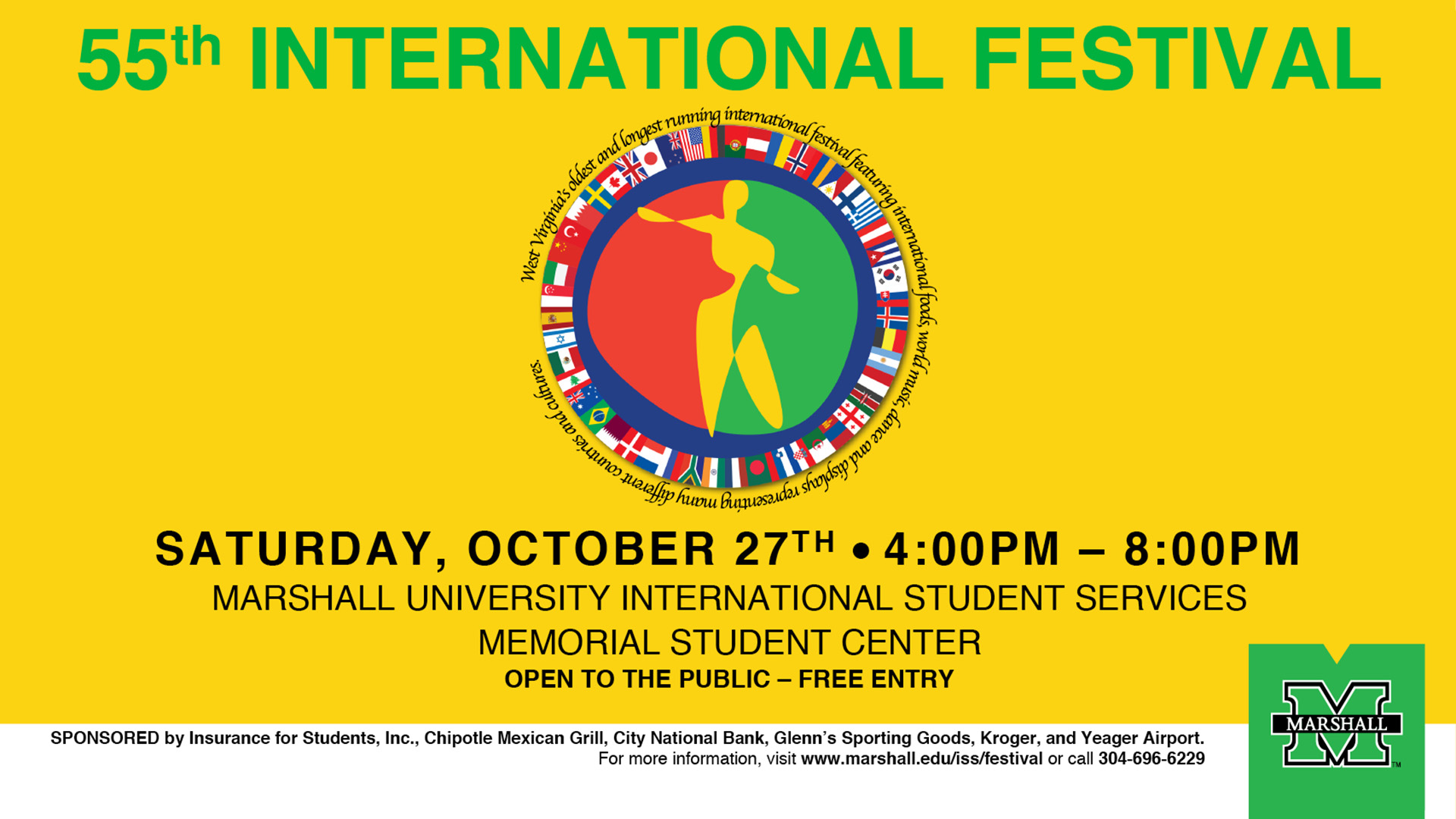 55th Annual International Festival Returns To The Huntington Campus Saturday