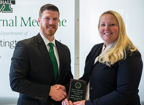 Mader recognized as April Resident of the Month