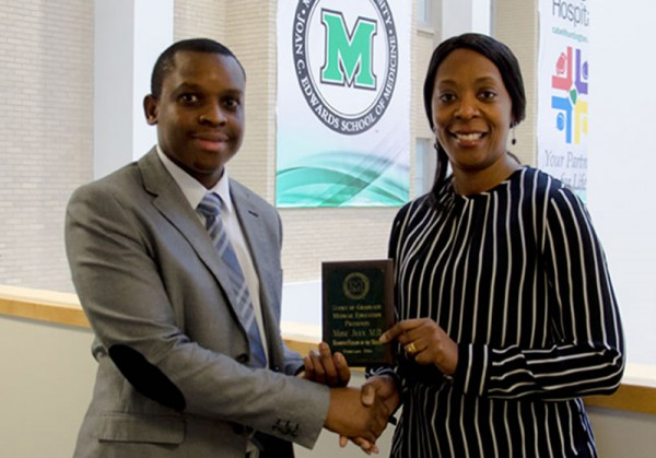 Mose July, M.D., recognized as February Fellow of the Month