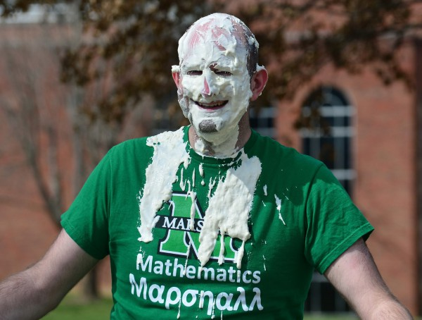 "Pi Day a ""hit"" for faculty member Michael Schroeder"
