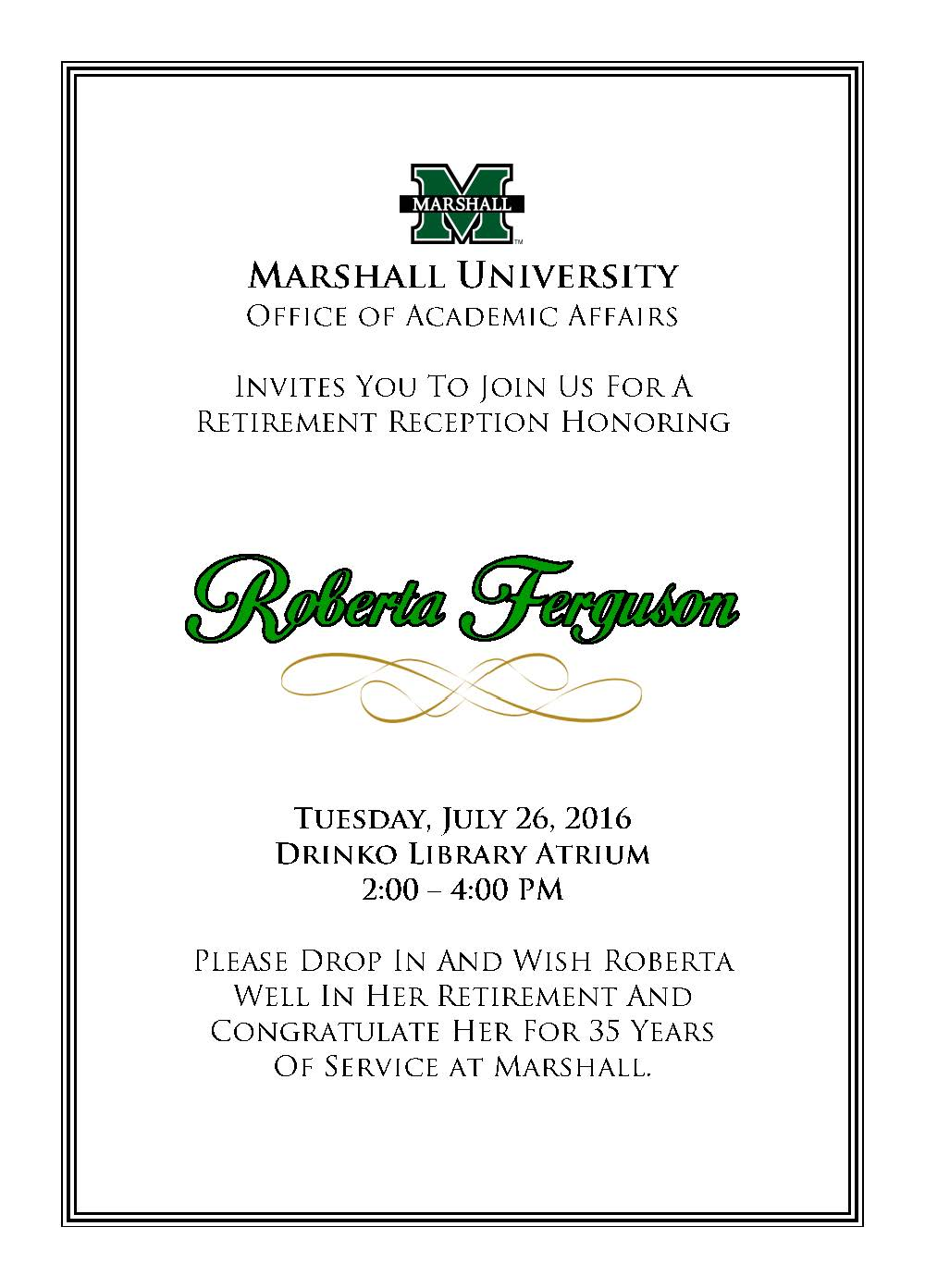 We Are     Marshall for July 13, 2016