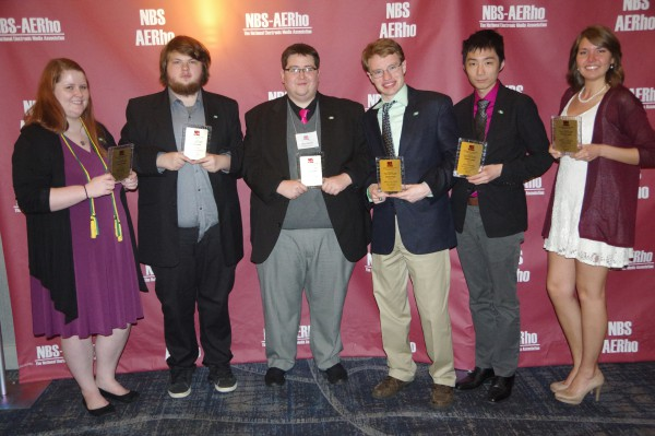 WMUL crew takes home 14 awards from national conference
