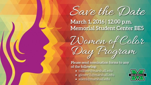 Reminder: Nominations for Women of Color Award due Feb. 14
