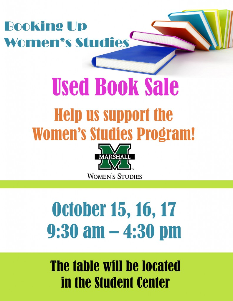 Book Sale @ Marshall Student Center