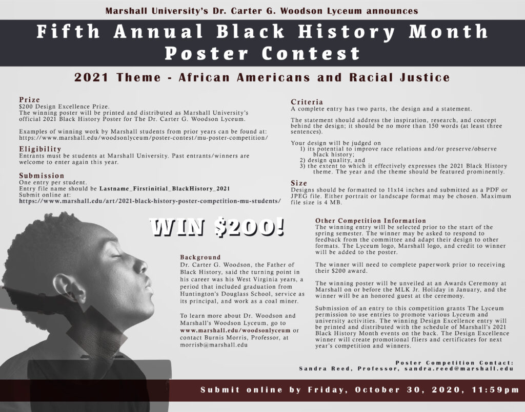 Fifth Annual Black History M onth Poster Contest